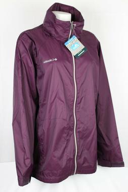 Columbia Women's Switchback III Rain Jacket Plus Size 2X & 3