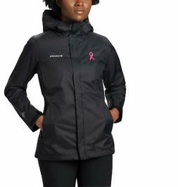 Columbia Women's Tested Tough in Pink Rain Jacket  - Choose