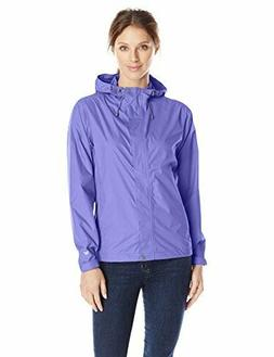 White Sierra Women's Trabagon Packable Rain Shell Jacket Blu