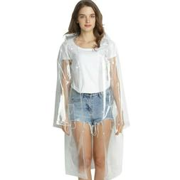 women s transparent raincoat outerwear girls clear