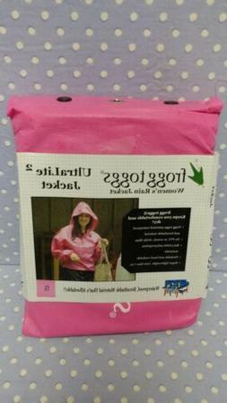 Frogg Toggs Women's Ultra Lite 2 Rain Jacket Pink Small New