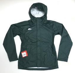 The North Face Women's Venture Rain Jacket Scarab Green NEW