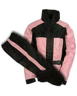 Milwaukee Leather Women's Waterproof Rain Suit With Reflecti