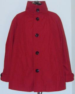 Avenue Women's Windbreaker Rain Coat Jacket Plus Size 22 Swi