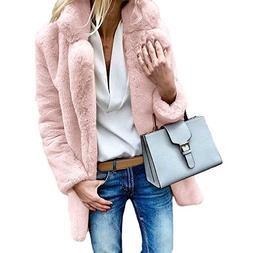 Nadition Women Sweater Fashion Ladies Warm Pure Color Artifi