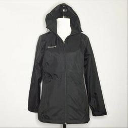 Columbia Women Sycamore Springs Rain Windbreaker Jacket Blac