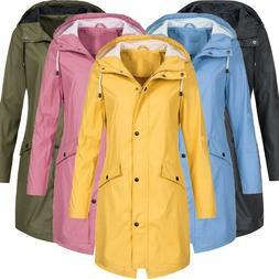 Women Waterproof Windproof Jackets Cycling Hiking Running Ou