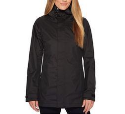 Columbia Womens Black Splash A Little II Rain Jacket Sz XL 3