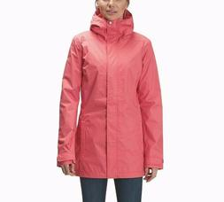 Womens L Columbia SPLASH A LITTLE II mid length rain jacket