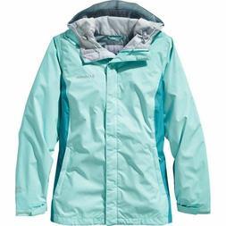 Womens M Columbia ARCADIA II rain jacket waterproof new with
