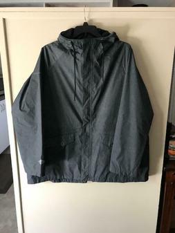 COLUMBIA Womens Plus Laurelhurst Park Rain Jacket -- 3X -- H