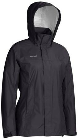 Marmot Womens PRECIP Rain Jacket XL BLACK