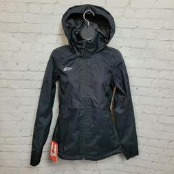 The North Face Womens Resolve Plus Rain Coat Jacket In TNF B