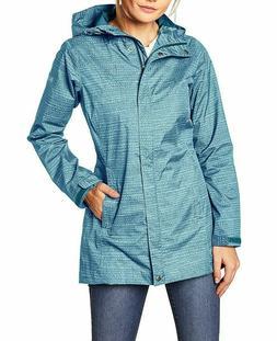 Womens S Columbia SPLASH A LITTLE mid length rain jacket wat