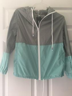 SoTeer Womens Small Hooded Raincoat Lightweight Waterproof R