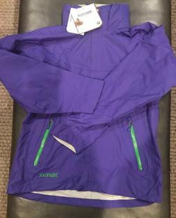 Marmot Women's Strato Rain Jacket / Shell. Sz. Small. Elec