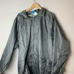 Portwest Women's SZ XXL grey rain jacket