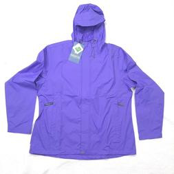 White Sierra Womens Trabagon Rain Jacket Shell Hooded Plus S
