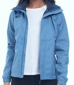 WOMENS XSMALL PROVINCIAL BLUE THE NORTH FACE RESOLVE 2 RAIN
