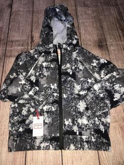 Hunter For Target XS 4-5 Rain Jacket Boys Black Grey NEW