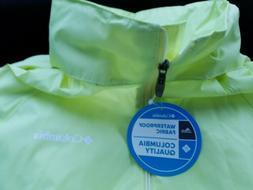 Columbia Yellow Neon Women's Switchback™ III Jacket SZ.