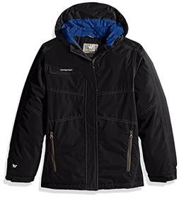 White Sierra Youth Boys Casper Insulated Jacket, Black, Smal