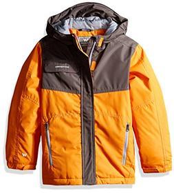 White Sierra Youth Boys Casper Insulated Jacket, Orange Pepp