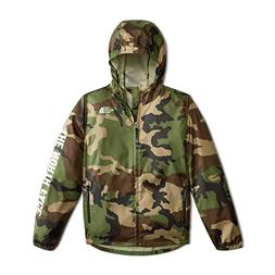 The North Face Youth Flurry Wind Hoodie - Terrarium Green Wo